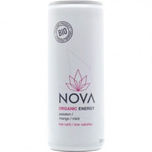 Nova Organic Energy passievrucht, mango en munt